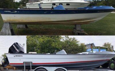 Restauration complète de bateaux